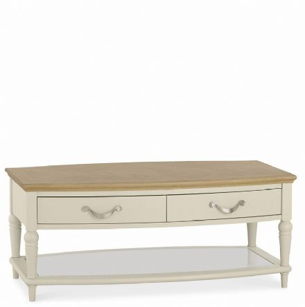 Montreux Oak and Antique White Coffee Table